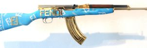 gold fendi sks by peter-gronquist