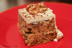 Carrot cake with walnut 3 by patchow
