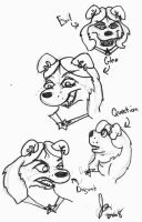 Facial Expressions by ravagefox