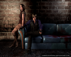 Leon and Helena by ceriselightning