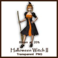 Halloween Witch II by shd-stock