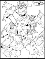 LN TF Headmaster Autobots by Mono-Phos