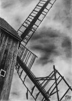 Old windmill by Miko-kvl