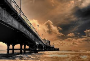 New Pier HDR by Dave-Ellis