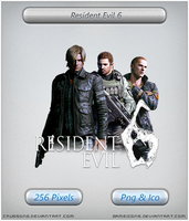 Resident Evil 6 - Icon by Crussong