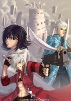 DMC3: Trio by ShiroiNeko-sama