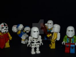 SnowTroopers Halloween Party by mckatalyn