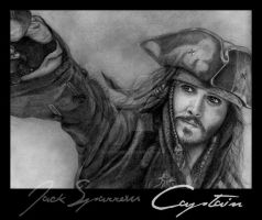 Captain Jack Sparrow by baremywords