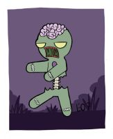 Gingerbread Man Zombie by EO88