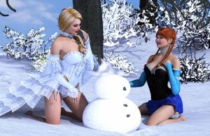 12-Do You Want to Build a Snowman small by kelkor