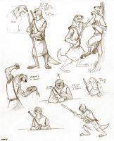 Ottery sketches by Kobb