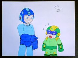Mega Man's Size Differences by shnoogums5060
