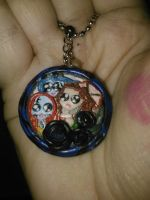 Ladies of Tim Burton Pendant by ShadyDarkGirl