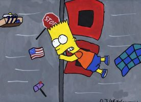 Bart in the Hurricane by DJgames