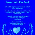 Blue: Love isn't Perfect by RTNightmare