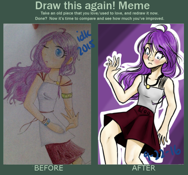 Draw This Again Meme by Winterfrost321