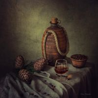 Tincture on pine nuts by Daykiney