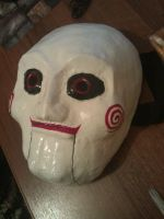 Billy mask (Jigsaw, SAW) by AlexSnake1