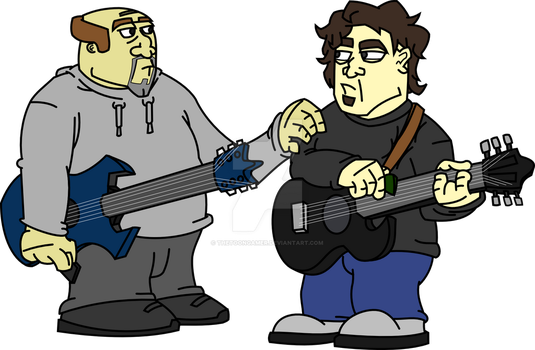 Rock music? HOW TENACIOUS! [VECTORMARIZED] by TheToonGamer