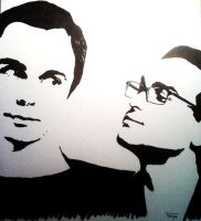 Sheldon and Leonard TBBT by TanyaFilth