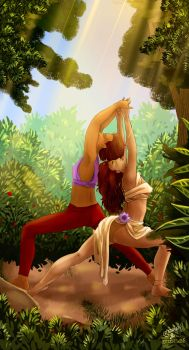 [DAMMED] Teambuilding AE| Yoga Queens by IdiotTwins