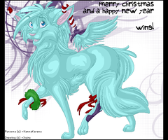 Merry Christmas, Wingy by Xyiru