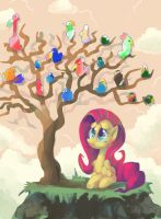 The Birdy Tree by DocWario