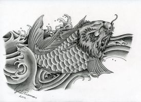 Koi by Little-Bluefish