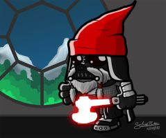 Dwarf Vader by GiulianoBotter