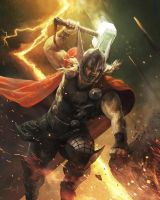 Thor by Aleksi--Briclot