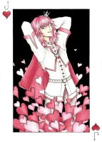 Marluxia:Jack of Hearts by Nashimus