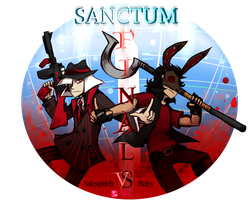FINAL ROUND SALESPITCH VS RUBY by Illus-luvs-POCKY