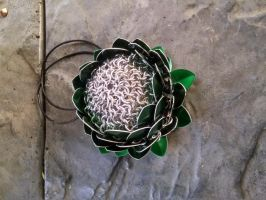 Scale Dice Bags - the bottom by TheCharmedDragon