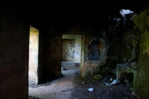 Abandoned House Interior Stock 4 by SSyn-Stock