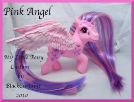 Pink Angel by BlackCurtains