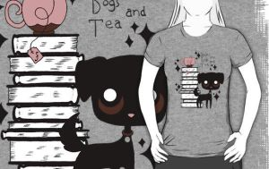 Books and Dogs and Tea by spiderliing666