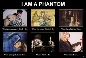 'I Am A' Meme: Phantom by Raphael2054