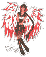 Art Trade - Sailor Seraphim by SailorSilverFalcon03