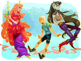 Adventure Time by Sora-la