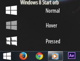 Windows 8 Metro Start Orb by NyeTuGFX by NyeTuGFX