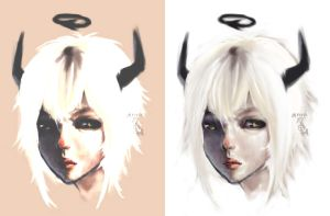 gaia REALISM ATTEMPT2? by t0fuu