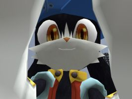Klonoa holding the camera by soyersoldier
