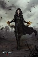 The Witcher 3 Wild Hunt-Yennefer Marmad by Scratcherpen