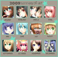 2009 Summary Meme by Kamaniki