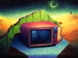 TV without commercials by EsekBazgroli