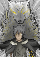 Fenris Wolf Spirit by Anomynousness