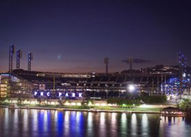 PNC Park at Dark by CSStriker