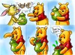 Surprise for Winnie the Pooh by zdrer456