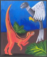Compsognathus Archaeopteryx by wifey