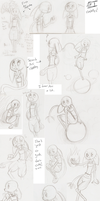 What -IF I- Sketch Dump? Pt. 1 by Mister-Saturn